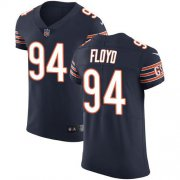 Wholesale Cheap Nike Bears #94 Leonard Floyd Navy Blue Team Color Men's Stitched NFL Vapor Untouchable Elite Jersey