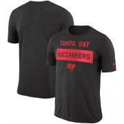 Wholesale Cheap Men's Tampa Bay Buccaneers Nike Pewter Sideline Legend Lift Performance T-Shirt
