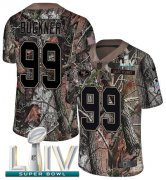 Wholesale Cheap Nike 49ers #99 DeForest Buckner Camo Super Bowl LIV 2020 Men's Stitched NFL Limited Rush Realtree Jersey