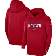 Wholesale Cheap Houston Texans Nike Sideline Local Performance Pullover Hoodie Red