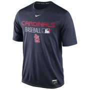 Wholesale Cheap St.Louis Cardinals Nike Legend Team Issue Performance T-Shirt Navy