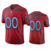 Wholesale Cheap Tennessee Titans Custom Red Vapor Limited City Edition NFL Jersey