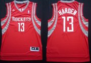 Wholesale Cheap Houston Rockets #13 James Harden Revolution 30 Swingman Red Jersey