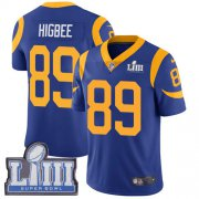 Wholesale Cheap Nike Rams #89 Tyler Higbee Royal Blue Alternate Super Bowl LIII Bound Men's Stitched NFL Vapor Untouchable Limited Jersey