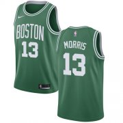 Wholesale Cheap Nike Boston Celtics #13 Marcus Morris Green NBA Swingman Icon Edition Jersey