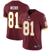 Wholesale Cheap Nike Redskins #81 Art Monk Burgundy Red Team Color Men's Stitched NFL Vapor Untouchable Limited Jersey