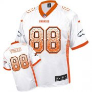 Wholesale Cheap Nike Broncos #88 Demaryius Thomas White Men's Stitched NFL Elite Drift Fashion Jersey