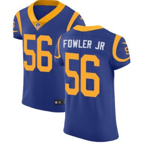 Wholesale Cheap Nike Rams #56 Dante Fowler Jr Royal Blue Alternate Men\'s Stitched NFL Vapor Untouchable Elite Jersey