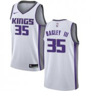 Wholesale Cheap Nike Sacramento Kings #35 Marvin Bagley III White NBA Swingman Association Edition Jersey