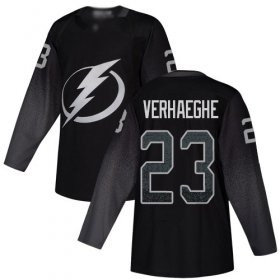Cheap Adidas Lightning #23 Carter Verhaeghe Black Alternate Authentic Youth Stitched NHL Jersey