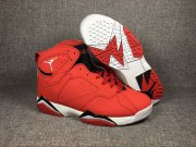 Wholesale Cheap Air Jordan 7 Fadeaway University Red/Black-White