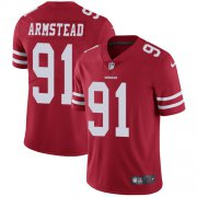 Wholesale Cheap Nike 49ers #91 Arik Armstead Red Team Color Youth Stitched NFL Vapor Untouchable Limited Jersey
