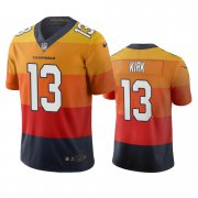 Wholesale Cheap Arizona Cardinals #13 Christian Kirk Sunset Orange Vapor Limited City Edition NFL Jersey