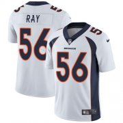 Wholesale Cheap Nike Broncos #56 Shane Ray White Men's Stitched NFL Vapor Untouchable Limited Jersey