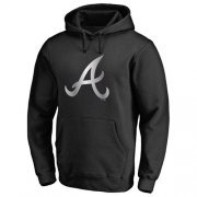 Wholesale Cheap Atlanta Braves Platinum Collection Pullover Hoodie Black