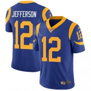 Wholesale Cheap Nike Rams #12 Van Jefferson Royal Blue Alternate Youth Stitched NFL Vapor Untouchable Limited Jersey