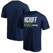 Wholesale Cheap Seattle Seahawks Fanatics Branded Kickoff 2020 T-Shirt College Navy