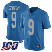 Wholesale Nike Lions #76 T.J. Lang Blue Throwback Men's Stitched NFL Vapor Untouchable Elite Jersey