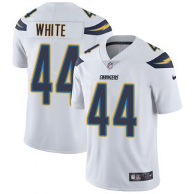 Wholesale Cheap Nike Chargers #44 Kyzir White White Men\'s Stitched NFL Vapor Untouchable Limited Jersey