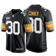 Wholesale Cheap Nike Steelers #30 James Conner Super Bowl XIII 1978 Retro Game NFL Jersey Black