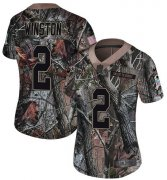 Wholesale Cheap Nike Saints #2 Jameis Winston Camo Women's Stitched NFL Limited Rush Realtree Jersey
