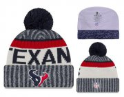 Wholesale Cheap NFL Houston Texans Logo Stitched Knit Beanies 007