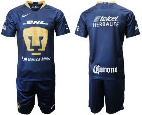 Wholesale Cheap Pumas Blank Away Soccer Club Jersey