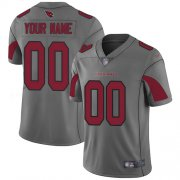 Wholesale Cheap Nike Arizona Cardinals Customized Silver Men's Stitched NFL Limited Inverted Legend Jersey
