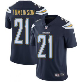 Wholesale Cheap Nike Chargers #21 LaDainian Tomlinson Navy Blue Team Color Youth Stitched NFL Vapor Untouchable Limited Jersey