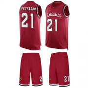 Wholesale Cheap Nike Cardinals #21 Patrick Peterson Red Team Color Men's Stitched NFL Limited Tank Top Suit Jersey