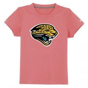 Wholesale Cheap Jacksonville Jaguars Sideline Legend Authentic Logo Youth T-Shirt Pink