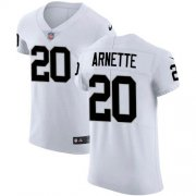 Wholesale Cheap Nike Raiders #20 Damon Arnette White Men's Stitched NFL New Elite Jersey