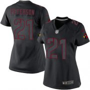 Wholesale Cheap Nike Cardinals #21 Patrick Peterson Black Impact Women's Stitched NFL Limited Jersey