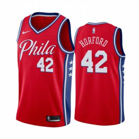 Wholesale Cheap Nike 76ers #42 Al Horford Red 2019-20 Statement Edition NBA Jersey