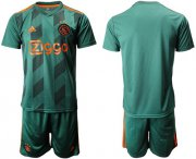 Wholesale Cheap Ajax Blank Away Soccer Club Jersey