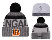 Wholesale Cheap NFL Cincinnati Bengals Logo Stitched Knit Beanies 013