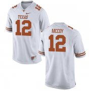 Wholesale Cheap Men's Texas Longhorns 12 Colt McCoy White Nike College Jersey
