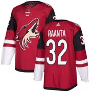 Wholesale Cheap Adidas Coyotes #32 Antti Raanta Maroon Home Authentic Stitched NHL Jersey
