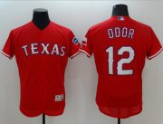 Wholesale Rangers #12 Rougned Odor Red Flexbase Authentic Collection Stitched Baseball Jersey