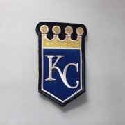Wholesale Cheap Stitched MLB Kansas City Royals Team Logo Jersey Sleeve Patch