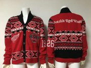 Wholesale Cheap Detroit Red Wings Men's NHL Ugly Sweater Red