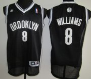 Wholesale Cheap Brooklyn Nets #8 Deron Williams Black Swingman Jersey