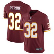 Wholesale Cheap Nike Redskins #32 Samaje Perine Burgundy Red Team Color Youth Stitched NFL Vapor Untouchable Limited Jersey