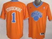 Wholesale Cheap New York Knicks #1 Amare Stoudemire Revolution 30 Swingman 2013 Christmas Day Orange Jersey