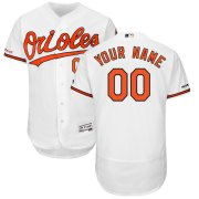 Wholesale Cheap Baltimore Orioles Majestic Home Flex Base Authentic Collection Custom Jersey White