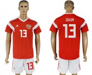 Wholesale Cheap Russia #13 Jikia Home Soccer Country Jersey