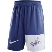 Wholesale Cheap Men's Los Angeles Dodgers Nike Royal Cooperstown Collection Dry Fly Shorts