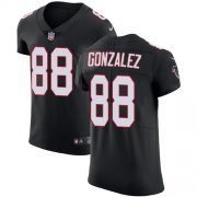 Wholesale Cheap Nike Falcons #88 Tony Gonzalez Black Alternate Men's Stitched NFL Vapor Untouchable Elite Jersey