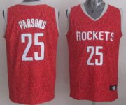 Wholesale Cheap Houston Rockets #25 Chandler Parsons Red Leopard Print Fashion Jersey
