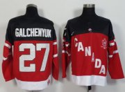 Wholesale Olympic CA. #27 Alex Galchenyuk Red 100th Anniversary Stitched NHL Jersey